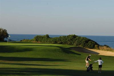 Fabulous views of the sea from Novo Sancti Petri Golf Course